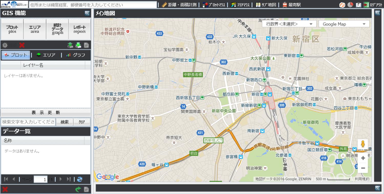 jSTAT MAP地図