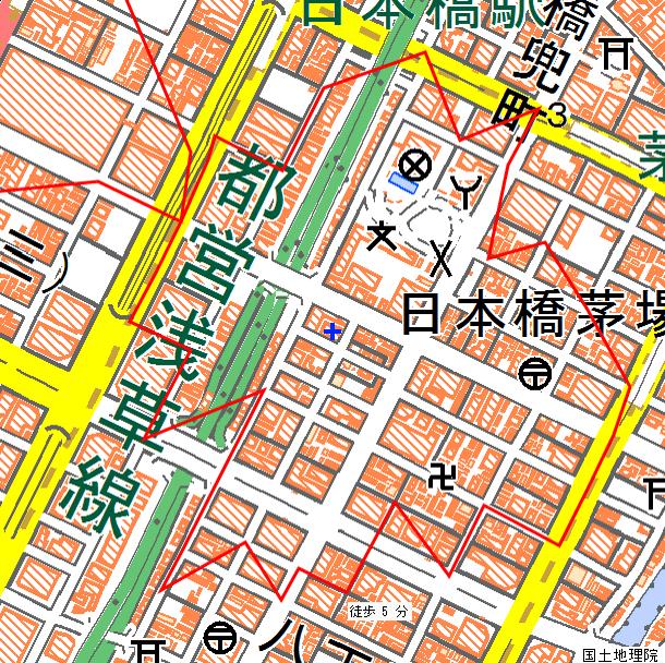 jSTAT MAP周辺地図